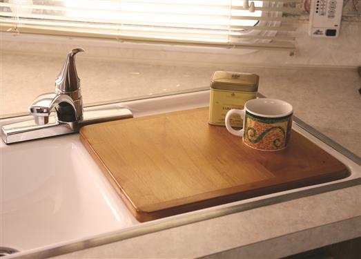 rv cutting board sink cover 43431