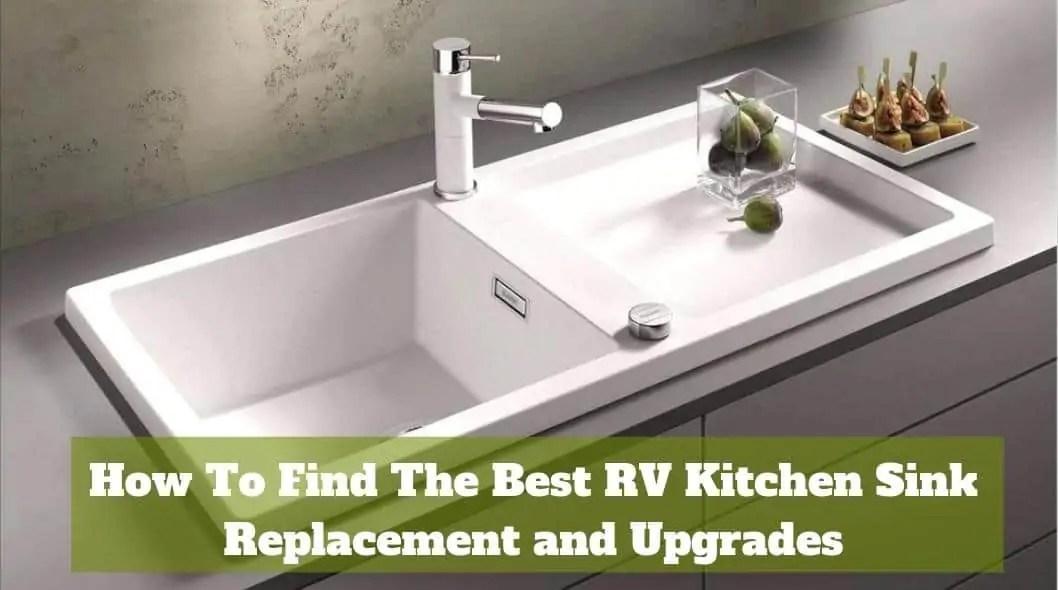 how to find the best rv kitchen sink