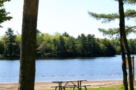 Six Mile Lake Provincial Park camping review- RV Places to Go