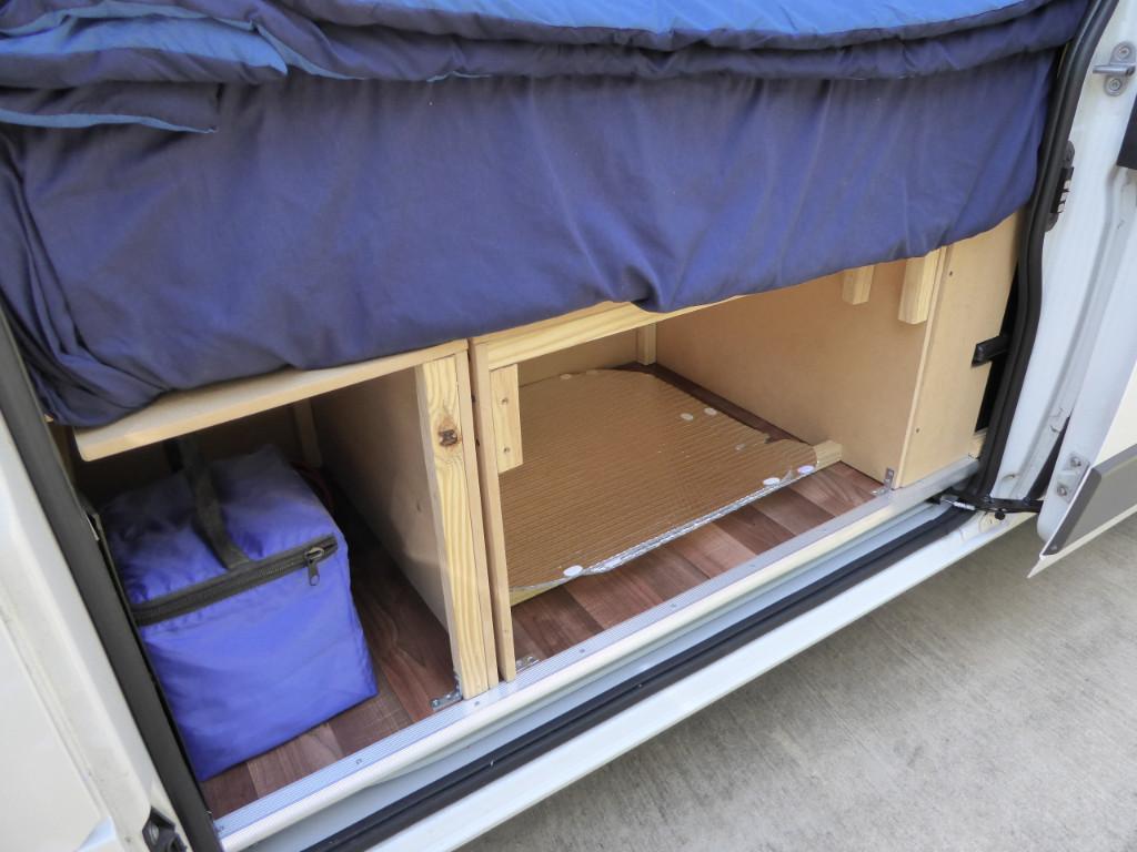 Ram Promaster Rv Camper Van Conversion Beds And Storage