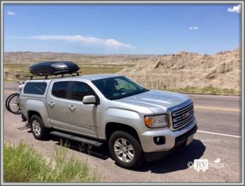 GMC Canyon at Badlands