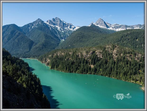 Peaks above Diablo Lake