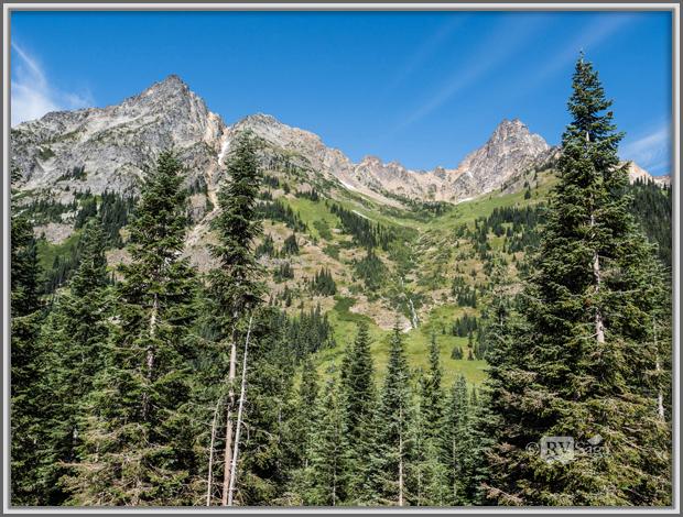 Majestic Mountains Near Washington Pass