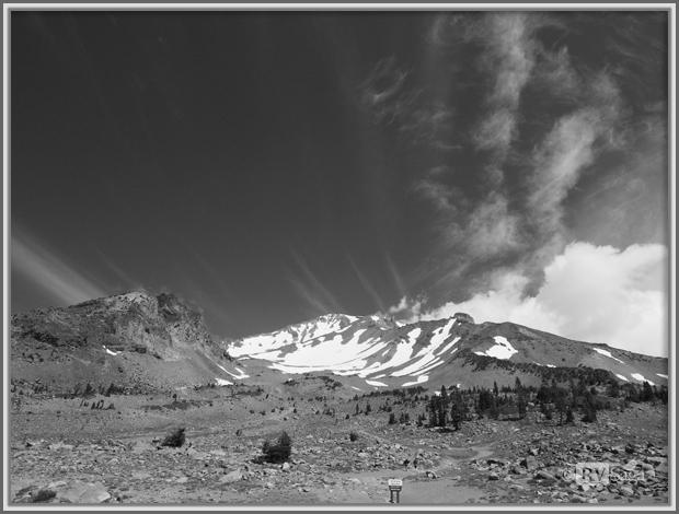 Old Ski Bowl Trailhead at Mt Shasta