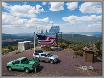 The Solar Panel on Antelope Lookout