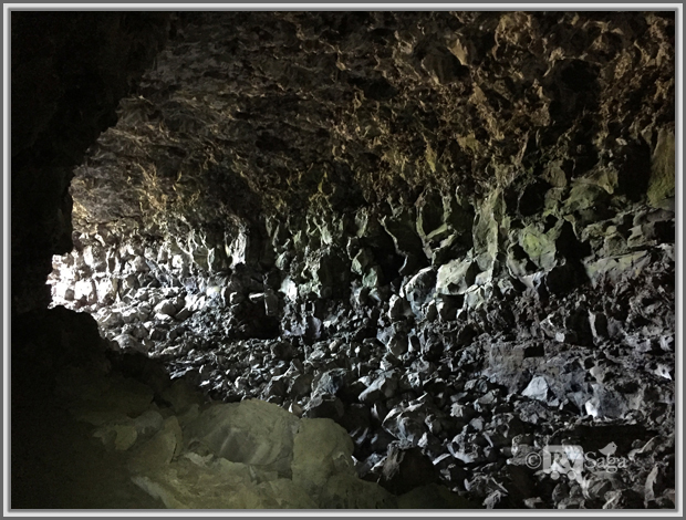 Tunnel of Skull Cave, Lava Beds National Monument