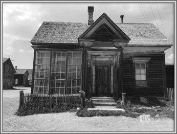 Cain's Residence. Bodie, California