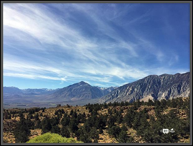 Vista Point of John Muir Wilderness, Alluvial Fan, U Shape Valley