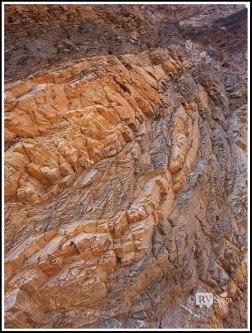 Folded Rocks at Mosaic Canyon