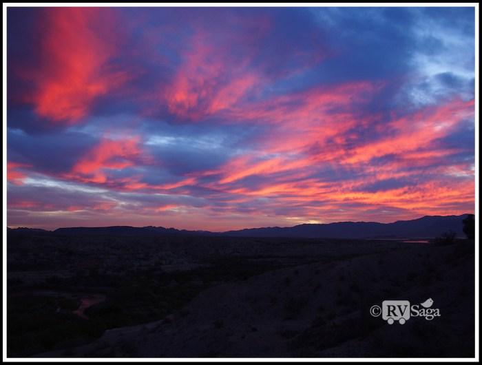 Sunrise at Las Vegas