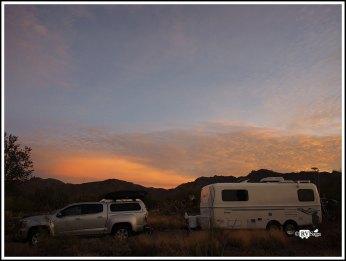 Dawn at Gilbert Ray Campground