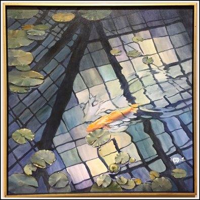 Conservatory Pond V, by Charlotte Allis