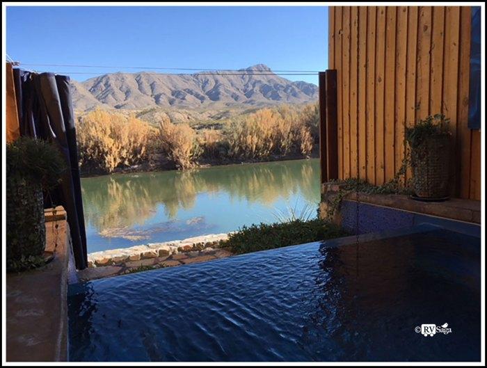 Hot Springs Tub at Riverbend