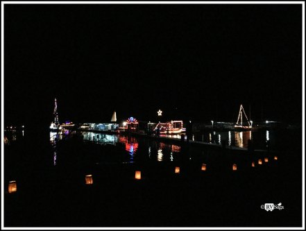 Light Show on Lake