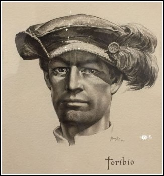 Portrait of Soldier Toribio, by Tom Lea