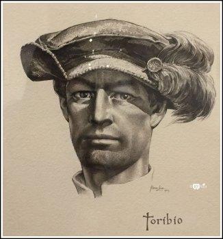 Portrait of Soldier Toribio, by Tom Lea