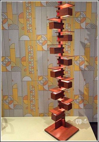 Talesin Floor Lamp, by Frank Lloyd Wright