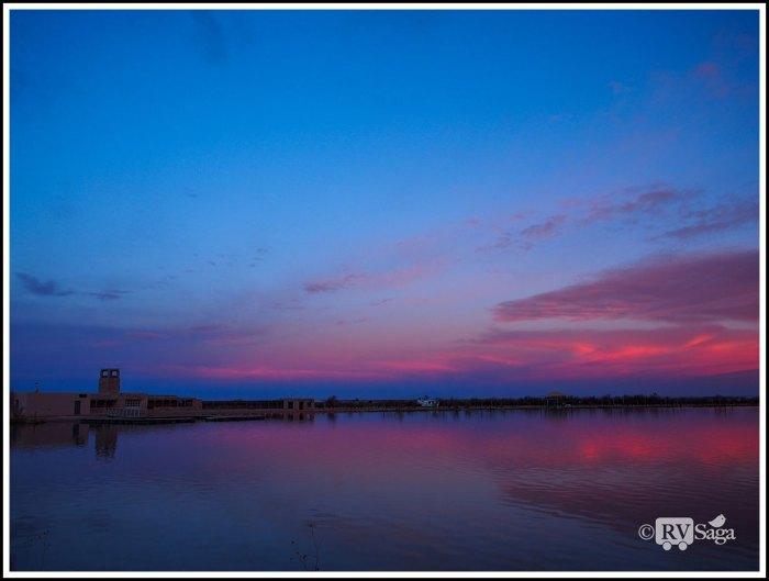 Dawn at Bottomless Lake