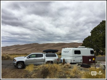 Campsite at Great Sand Dunes