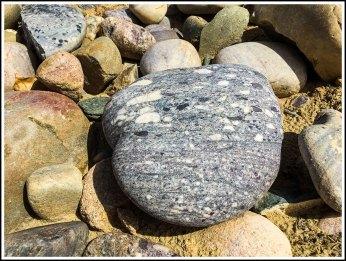 Rocks on the Beach by Navajo Lake