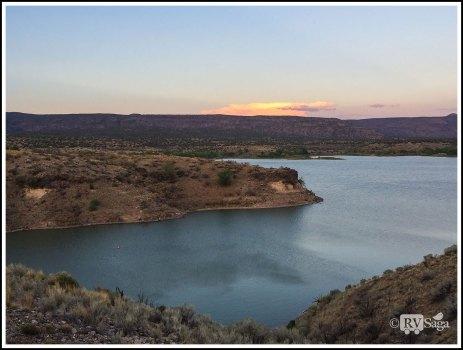 A Peaceful Cove of Cochiti Lake
