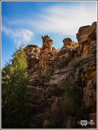 Cliffs of Bluewater Canyon