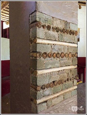 Exposed Pillar in Aztec Great Kiva