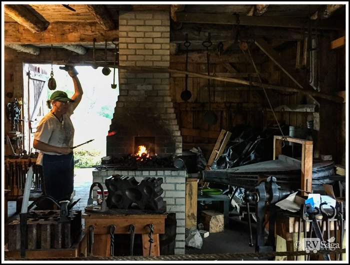 A-Blacksmith-at-Glen-Haven-Historic-Village