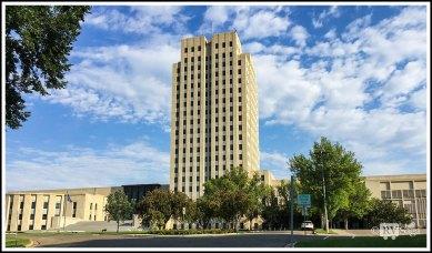 Capital Building of North Dakota At Bismarck
