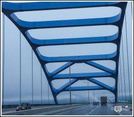 John A. Blatnik Bridge to Duluth, Minnesota