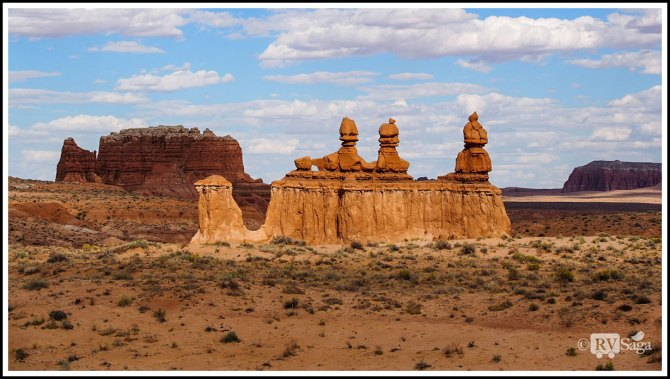 A Glimpse of Capital Reef National Park and Goblin Valley State Park