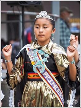 A Dancing Zuni Girl