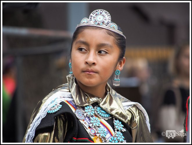 Indigenous People's Day Celebration at Santa Fe