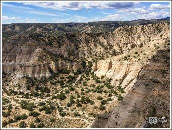 Overlooking Kasha-Katuwe Tent Rocks National Monument