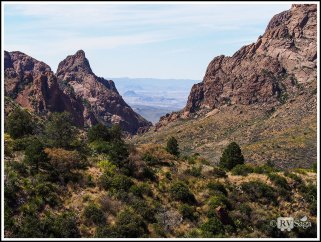 The Window at Chisos Basin
