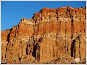 Red Cliffs at Sunrise