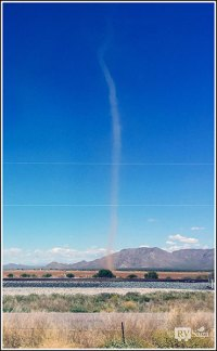 Dust Devil by I-10 Near Picacho