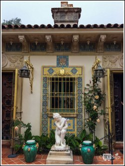 Cottage at Hearst Castle