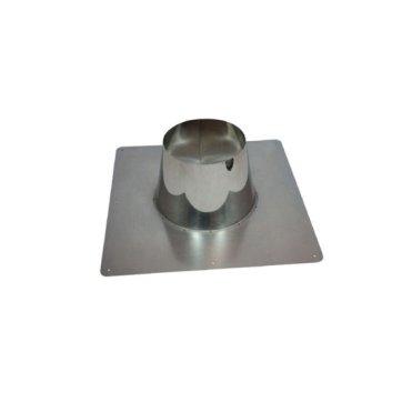 DW 80 x 130 dakplaat RVS 00-10 graden