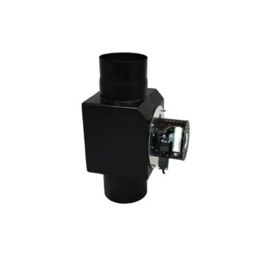 EW 150 ventilator zwart inclusief dimmer