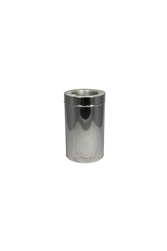 Isotube Plus 80 x130 sectie 500 mm ZWART