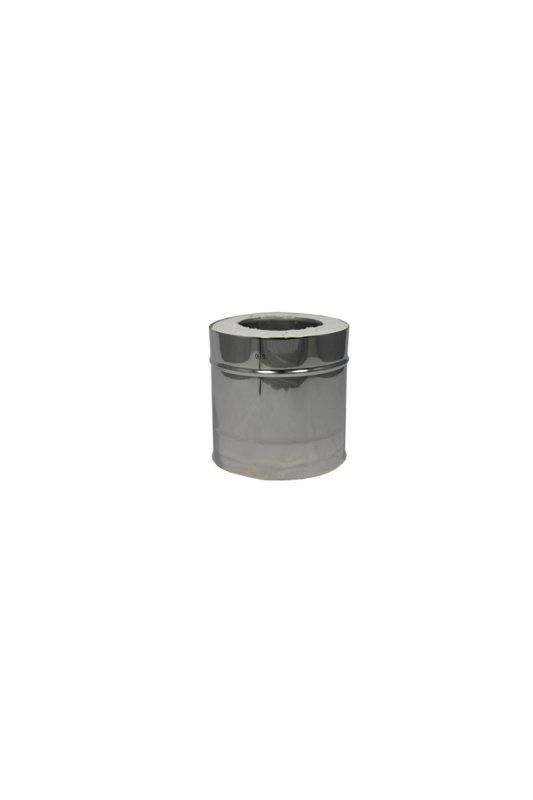 Isotube Plus 80x130 sectie 300 mm ZWART