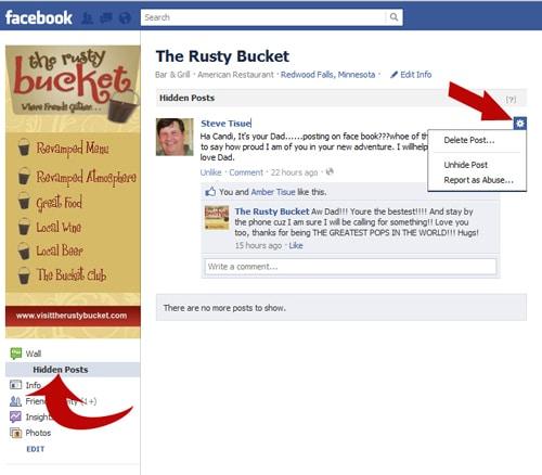 View Hidden Comments Facebook