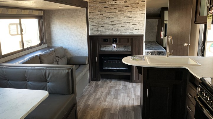 Interior photo of the trailer the day we purchased it.