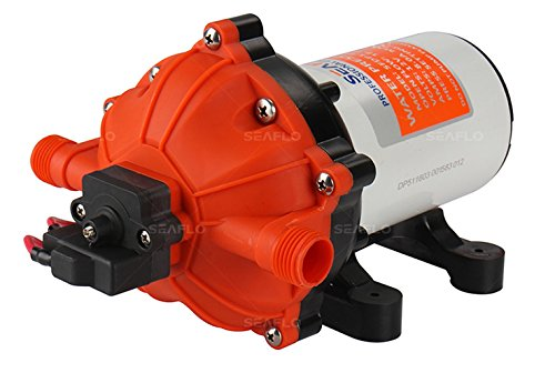 12V Water Pressure Pump Self Priming Diaphragm Caravan//RV//Boat//Marine Boat