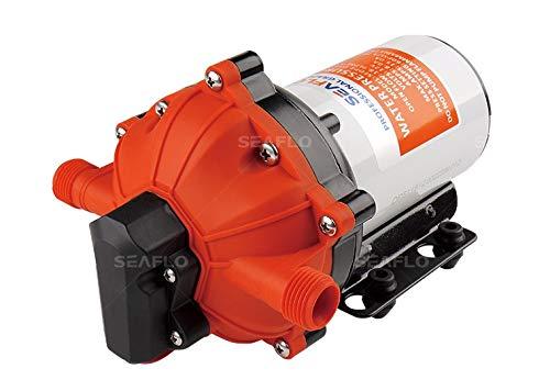Seaflo High Pressure Water Diaphrgam Pump 12 V DC 40 PSI 4.5 GPM Fit Marine RV