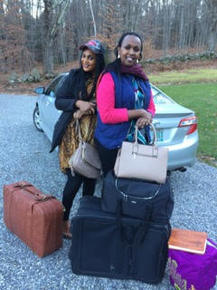 Alice and Ruth go home to Kigali