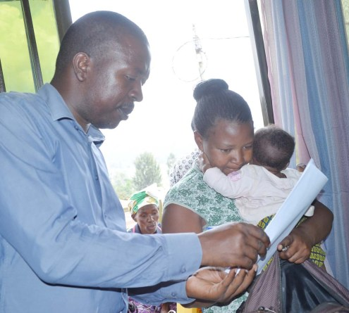 families are happy to receive food