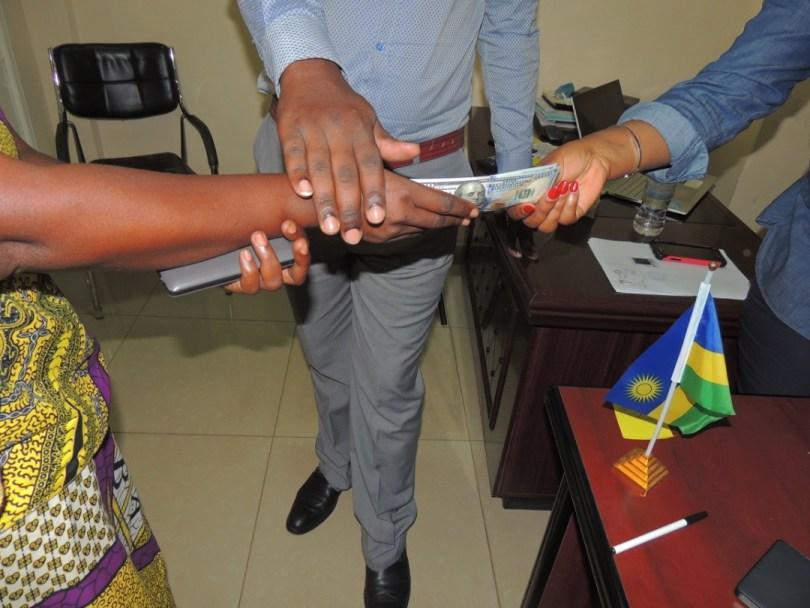RCEF Director is in Rwanda