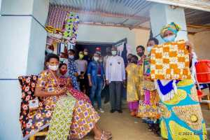 RCEF Mothers Open New Sewing Business